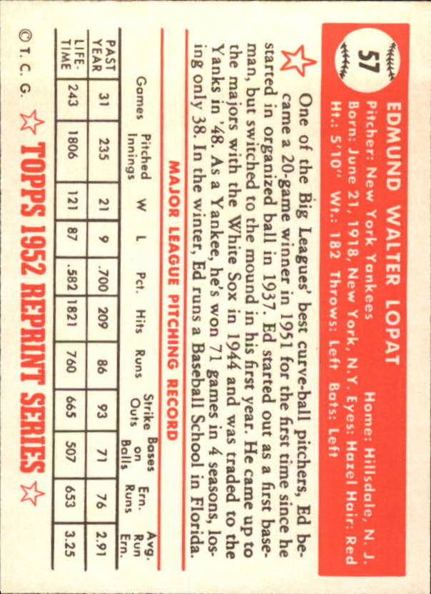 1983-Topps-1952-Reprint-BB-Card-039-s-1-250-You-Pick-Buy-10-cards-FREE-SHIP thumbnail 87