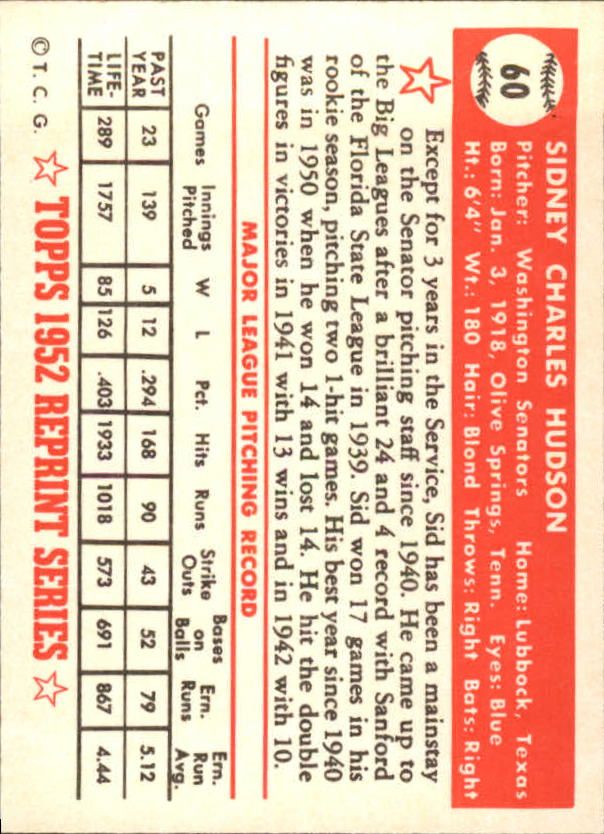 1983-Topps-1952-Reprint-BB-Card-039-s-1-250-You-Pick-Buy-10-cards-FREE-SHIP thumbnail 93