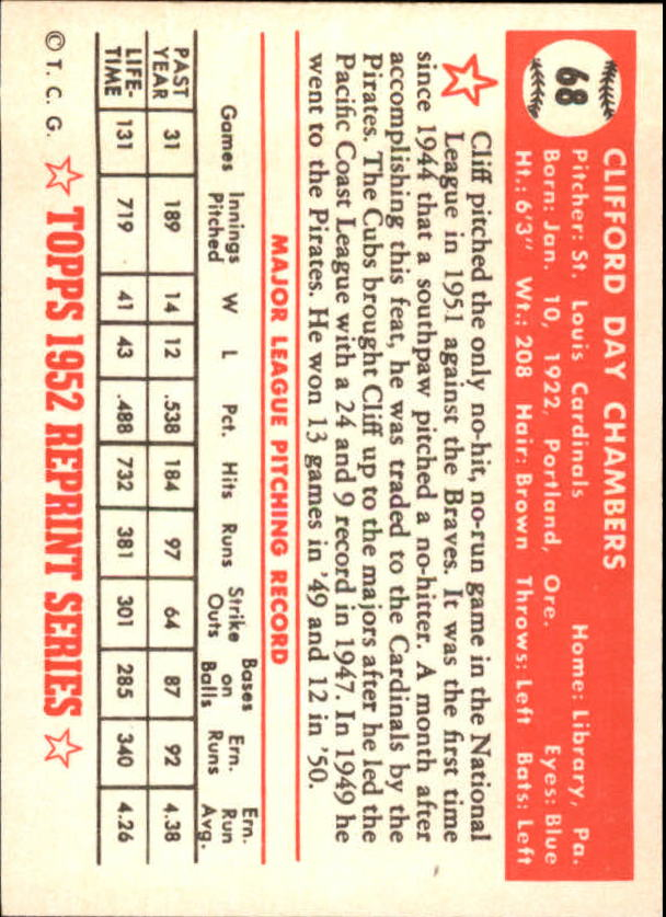 1983-Topps-1952-Reprint-BB-Card-039-s-1-250-You-Pick-Buy-10-cards-FREE-SHIP thumbnail 107