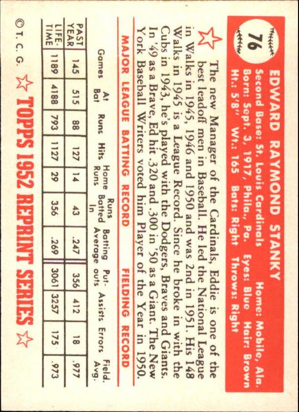 1983-Topps-1952-Reprint-BB-Card-039-s-1-250-You-Pick-Buy-10-cards-FREE-SHIP thumbnail 121