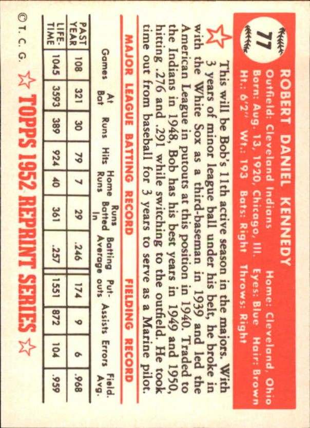 1983-Topps-1952-Reprint-BB-Card-039-s-1-250-You-Pick-Buy-10-cards-FREE-SHIP thumbnail 123