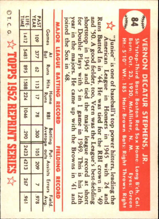 1983-Topps-1952-Reprint-BB-Card-039-s-1-250-You-Pick-Buy-10-cards-FREE-SHIP thumbnail 137