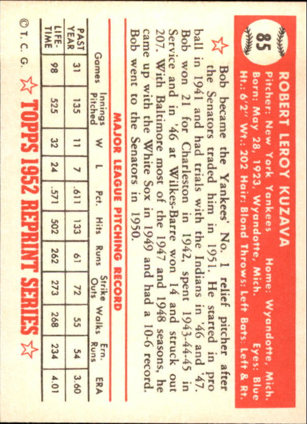 1983-Topps-1952-Reprint-BB-Card-039-s-1-250-You-Pick-Buy-10-cards-FREE-SHIP thumbnail 139