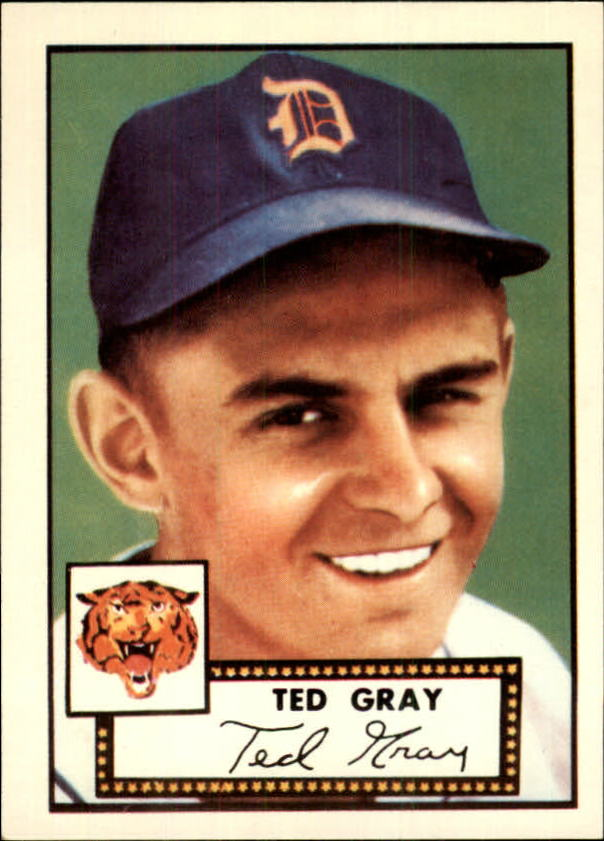 1983 Topps 1952 Reprint #86 Ted Gray
