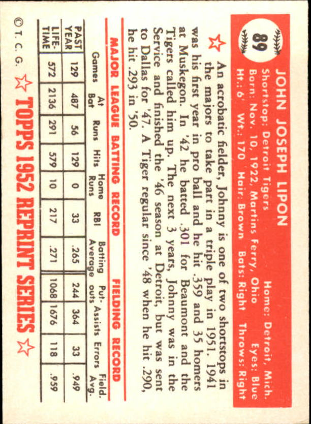 1983-Topps-1952-Reprint-BB-Card-039-s-1-250-You-Pick-Buy-10-cards-FREE-SHIP thumbnail 144