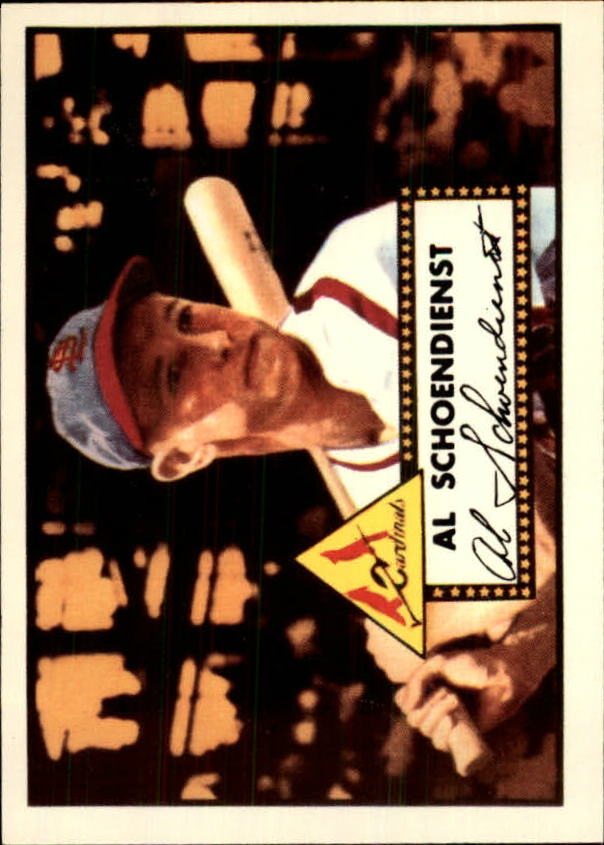 1983 Topps 1952 Reprint #91 Red Schoendienst