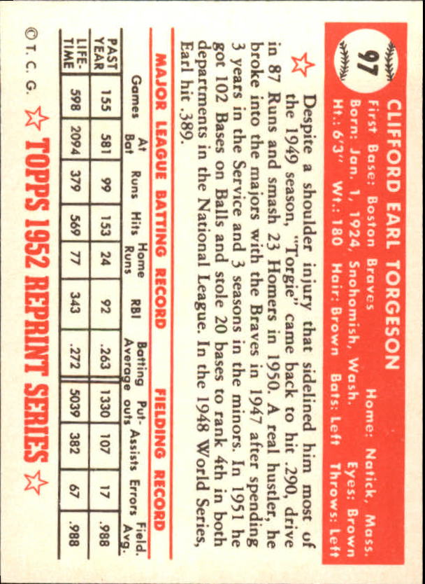 1983-Topps-1952-Reprint-BB-Card-039-s-1-250-You-Pick-Buy-10-cards-FREE-SHIP thumbnail 158