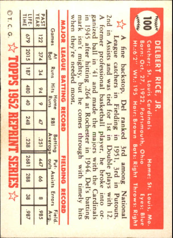 1983-Topps-1952-Reprint-BB-Card-039-s-1-250-You-Pick-Buy-10-cards-FREE-SHIP thumbnail 162