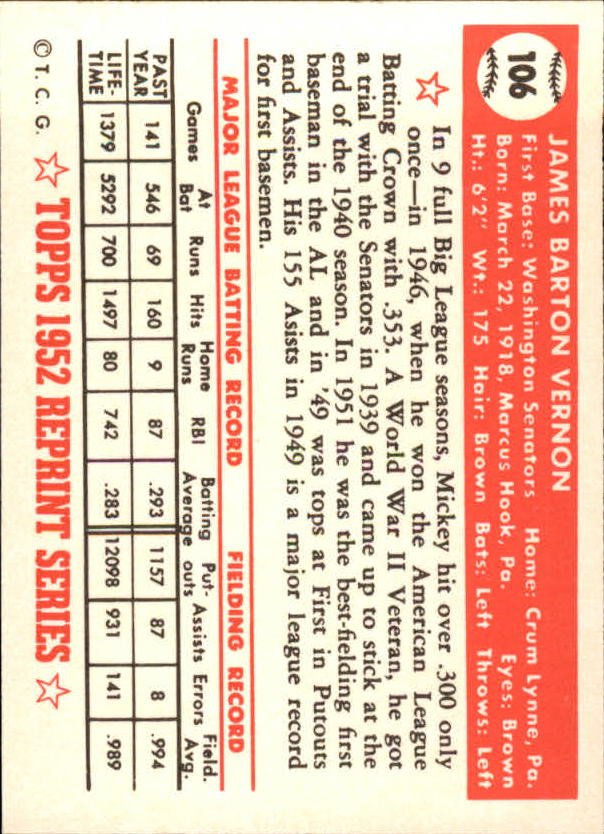 1983-Topps-1952-Reprint-BB-Card-039-s-1-250-You-Pick-Buy-10-cards-FREE-SHIP thumbnail 174