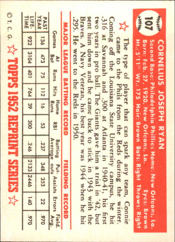 1983-Topps-1952-Reprint-BB-Card-039-s-1-250-You-Pick-Buy-10-cards-FREE-SHIP thumbnail 176