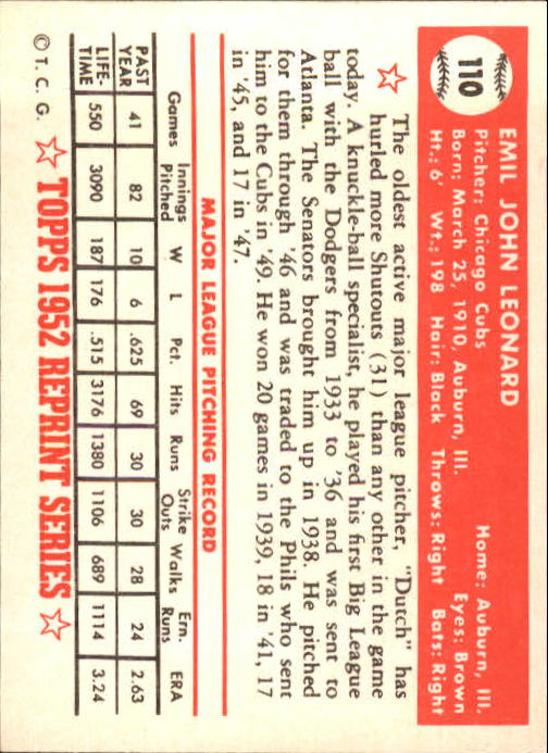 1983-Topps-1952-Reprint-BB-Card-039-s-1-250-You-Pick-Buy-10-cards-FREE-SHIP thumbnail 180