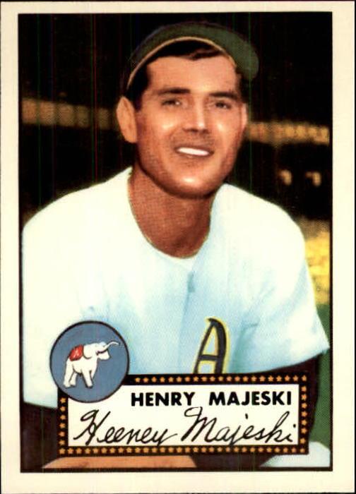 1983 Topps 1952 Reprint #112 Hank Majeski