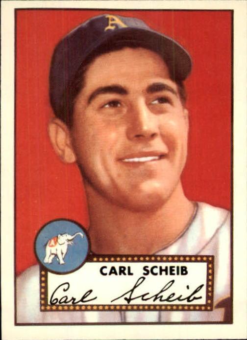 1983 Topps 1952 Reprint #116 Carl Scheib