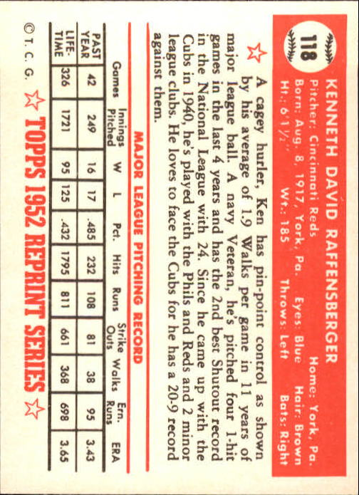 1983-Topps-1952-Reprint-BB-Card-039-s-1-250-You-Pick-Buy-10-cards-FREE-SHIP thumbnail 194