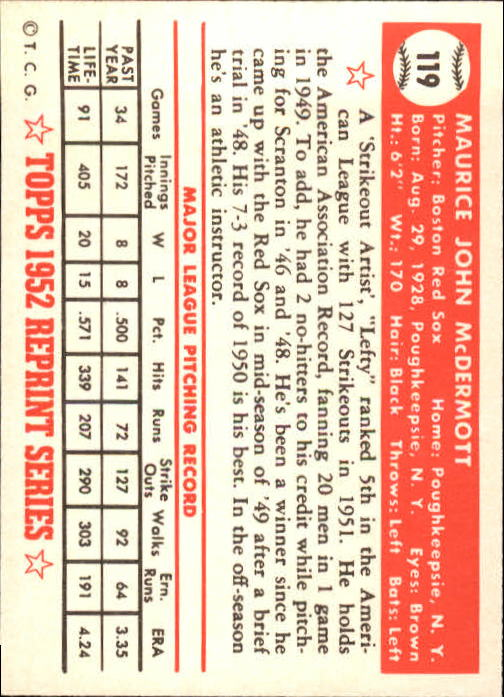 1983-Topps-1952-Reprint-BB-Card-039-s-1-250-You-Pick-Buy-10-cards-FREE-SHIP thumbnail 196