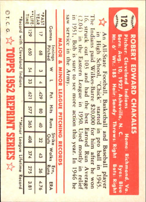 1983-Topps-1952-Reprint-BB-Card-039-s-1-250-You-Pick-Buy-10-cards-FREE-SHIP thumbnail 198