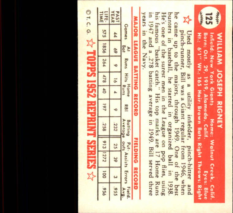 1983-Topps-1952-Reprint-BB-Card-039-s-1-250-You-Pick-Buy-10-cards-FREE-SHIP thumbnail 206