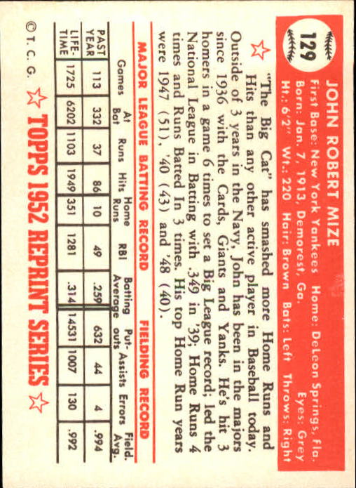 1983-Topps-1952-Reprint-BB-Card-039-s-1-250-You-Pick-Buy-10-cards-FREE-SHIP thumbnail 214