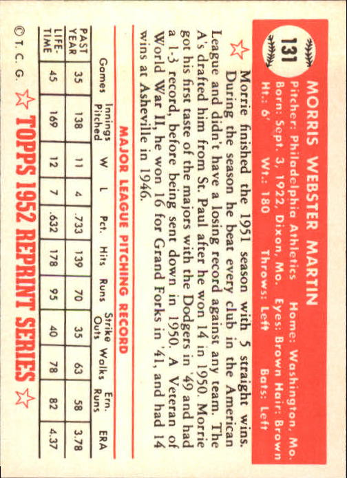1983-Topps-1952-Reprint-BB-Card-039-s-1-250-You-Pick-Buy-10-cards-FREE-SHIP thumbnail 218