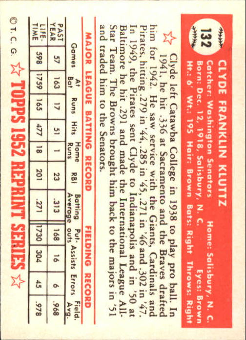 1983-Topps-1952-Reprint-BB-Card-039-s-1-250-You-Pick-Buy-10-cards-FREE-SHIP thumbnail 220