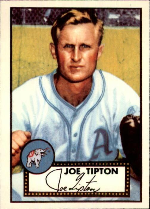1983 Topps 1952 Reprint #134 Joe Tipton