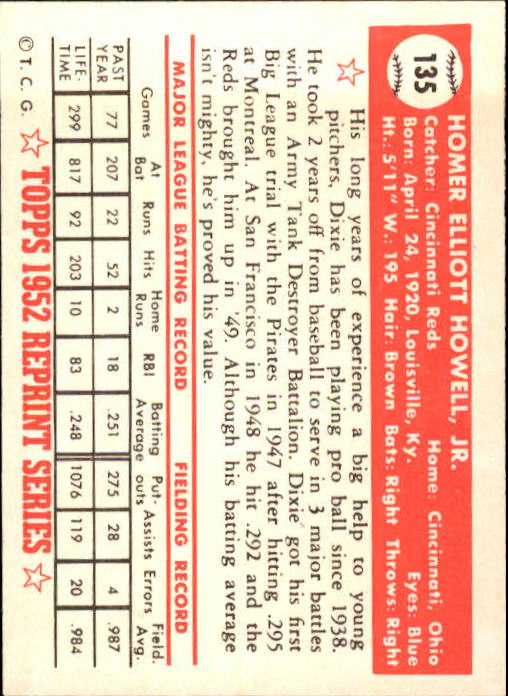 1983-Topps-1952-Reprint-BB-Card-039-s-1-250-You-Pick-Buy-10-cards-FREE-SHIP thumbnail 224