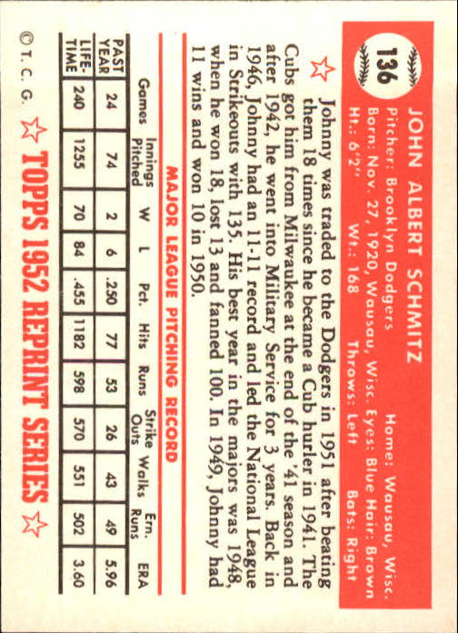 1983-Topps-1952-Reprint-BB-Card-039-s-1-250-You-Pick-Buy-10-cards-FREE-SHIP thumbnail 226