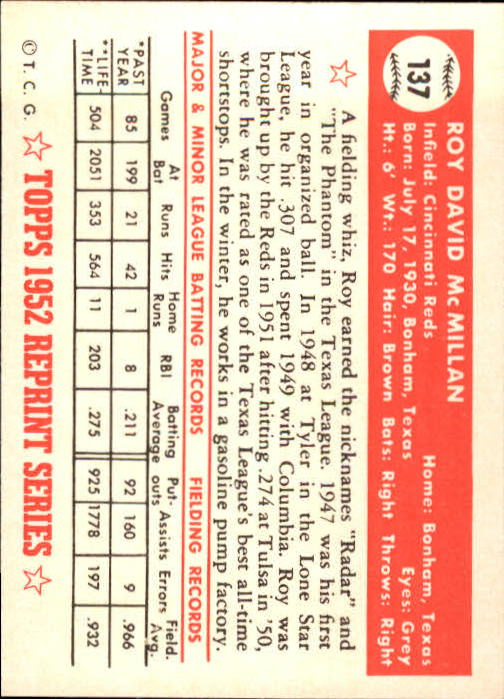 1983-Topps-1952-Reprint-BB-Card-039-s-1-250-You-Pick-Buy-10-cards-FREE-SHIP thumbnail 228