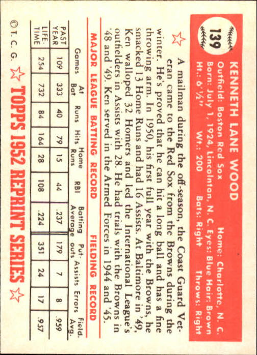 1983-Topps-1952-Reprint-BB-Card-039-s-1-250-You-Pick-Buy-10-cards-FREE-SHIP thumbnail 232