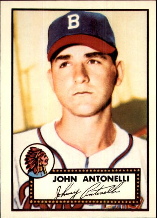 1983 Topps 1952 Reprint #140 Johnny Antonelli