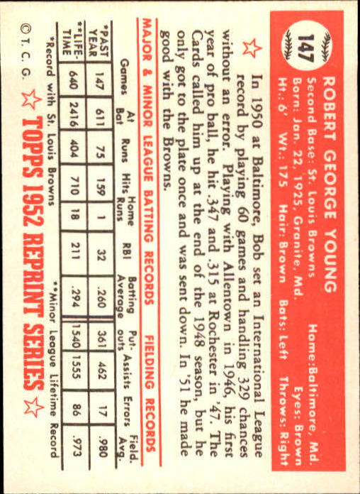 1983-Topps-1952-Reprint-BB-Card-039-s-1-250-You-Pick-Buy-10-cards-FREE-SHIP thumbnail 248