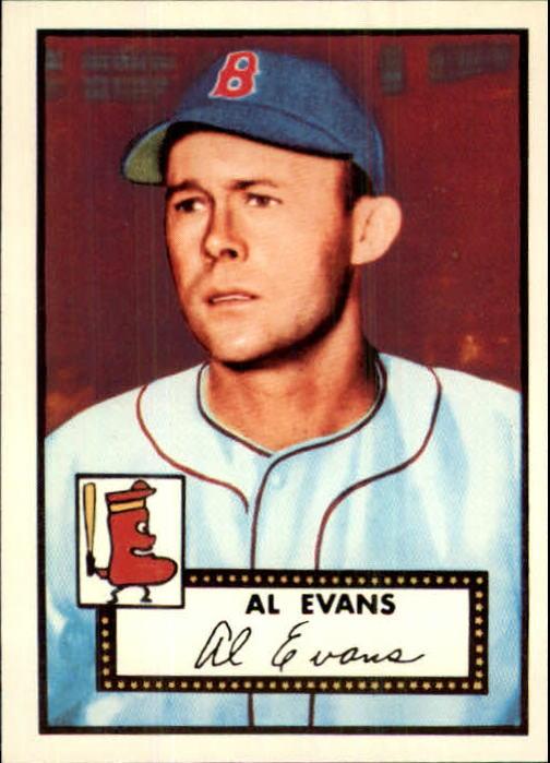 1983 Topps 1952 Reprint #152 Al Evans