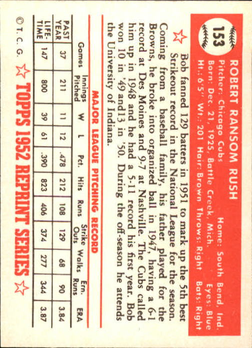 1983-Topps-1952-Reprint-BB-Card-039-s-1-250-You-Pick-Buy-10-cards-FREE-SHIP thumbnail 258