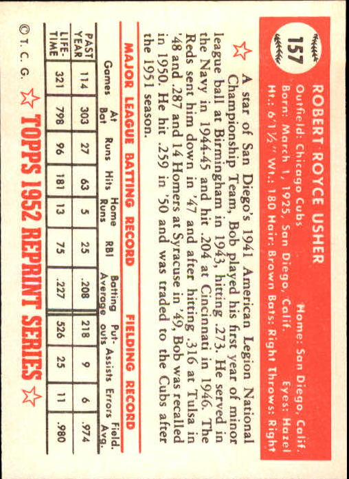 1983-Topps-1952-Reprint-BB-Card-039-s-1-250-You-Pick-Buy-10-cards-FREE-SHIP thumbnail 266