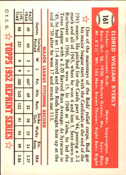 1983-Topps-1952-Reprint-BB-Card-039-s-1-250-You-Pick-Buy-10-cards-FREE-SHIP thumbnail 270