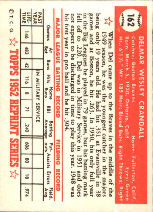 1983-Topps-1952-Reprint-BB-Card-039-s-1-250-You-Pick-Buy-10-cards-FREE-SHIP thumbnail 272