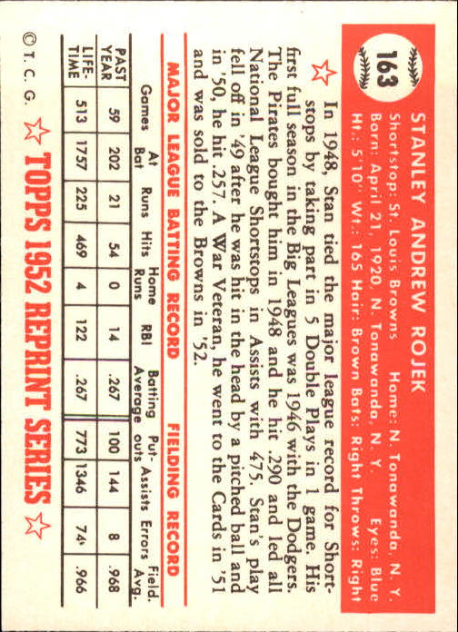 1983-Topps-1952-Reprint-BB-Card-039-s-1-250-You-Pick-Buy-10-cards-FREE-SHIP thumbnail 274
