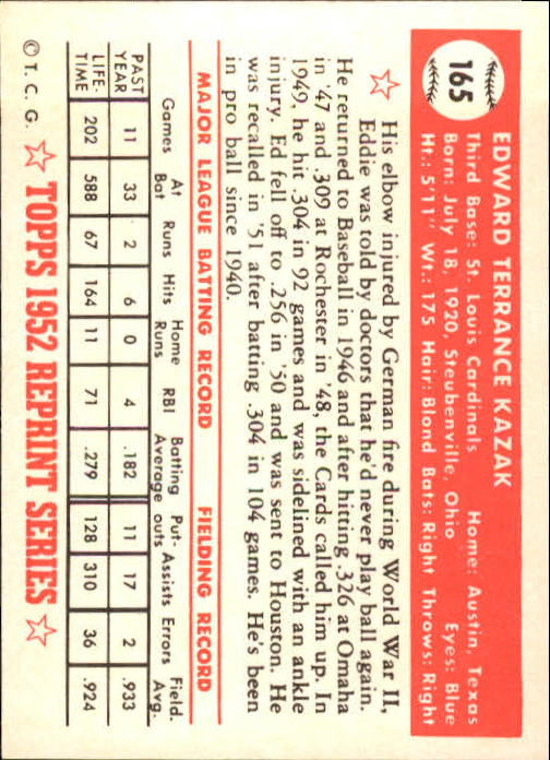 1983-Topps-1952-Reprint-BB-Card-039-s-1-250-You-Pick-Buy-10-cards-FREE-SHIP thumbnail 278