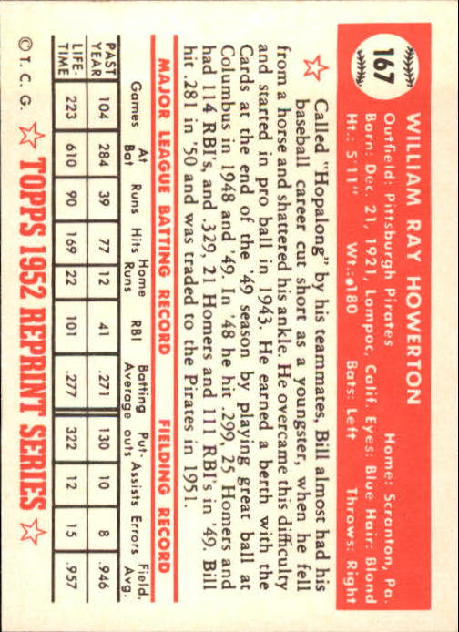 1983-Topps-1952-Reprint-BB-Card-039-s-1-250-You-Pick-Buy-10-cards-FREE-SHIP thumbnail 282