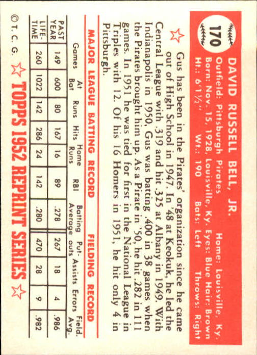 1983-Topps-1952-Reprint-BB-Card-039-s-1-250-You-Pick-Buy-10-cards-FREE-SHIP thumbnail 286