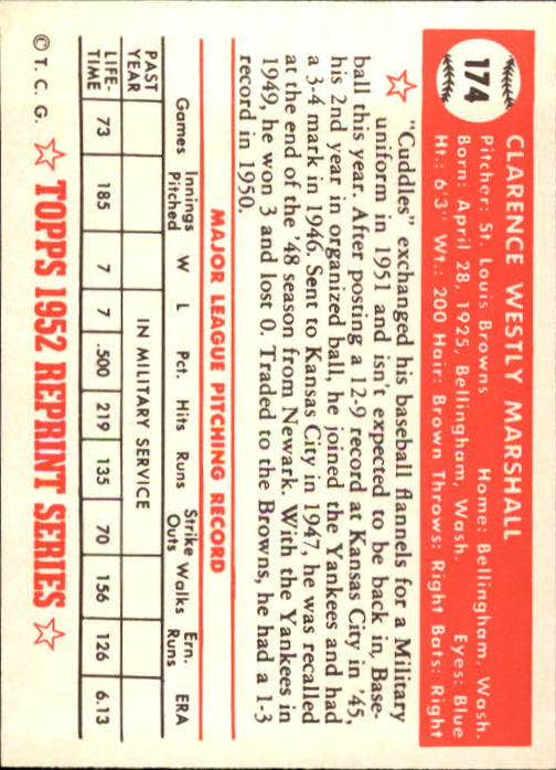 1983-Topps-1952-Reprint-BB-Card-039-s-1-250-You-Pick-Buy-10-cards-FREE-SHIP thumbnail 294