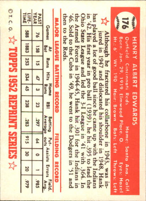 1983-Topps-1952-Reprint-BB-Card-039-s-1-250-You-Pick-Buy-10-cards-FREE-SHIP thumbnail 298