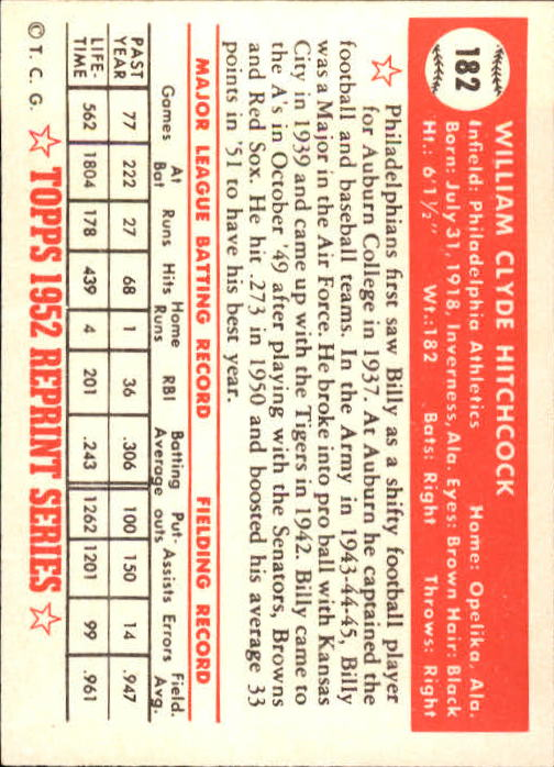 1983-Topps-1952-Reprint-BB-Card-039-s-1-250-You-Pick-Buy-10-cards-FREE-SHIP thumbnail 308