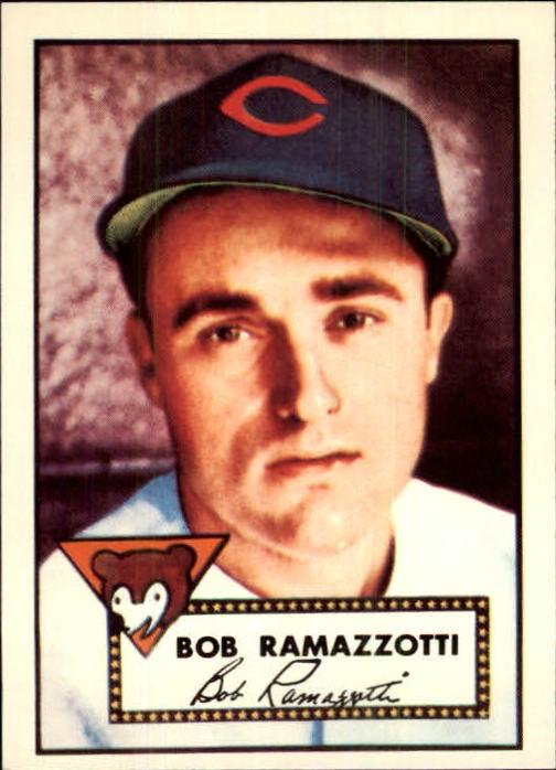 1983 Topps 1952 Reprint #184 Bob Ramazzotti