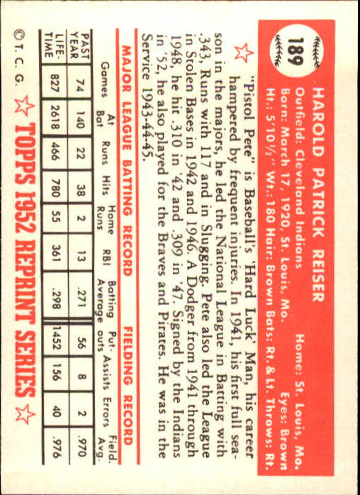 1983-Topps-1952-Reprint-BB-Card-039-s-1-250-You-Pick-Buy-10-cards-FREE-SHIP thumbnail 320
