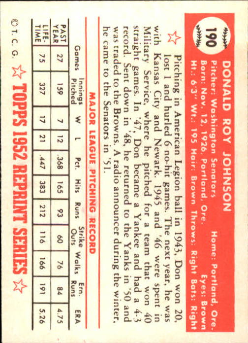 1983-Topps-1952-Reprint-BB-Card-039-s-1-250-You-Pick-Buy-10-cards-FREE-SHIP thumbnail 322