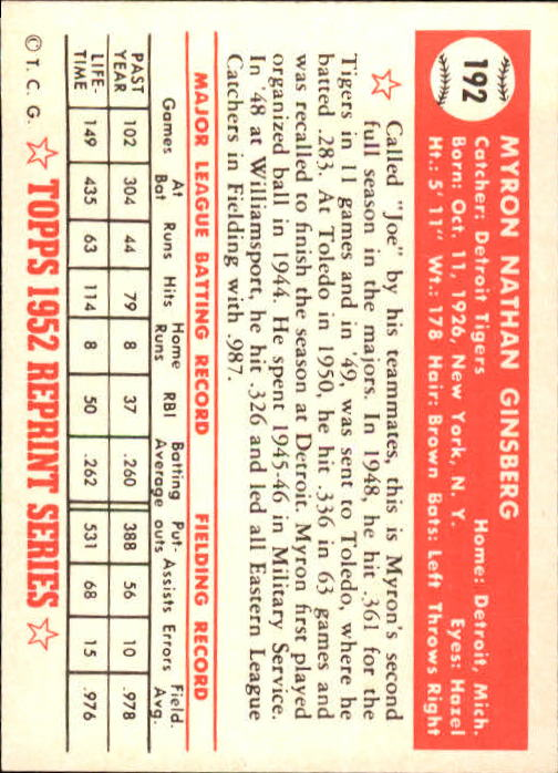 1983-Topps-1952-Reprint-BB-Card-039-s-1-250-You-Pick-Buy-10-cards-FREE-SHIP thumbnail 326