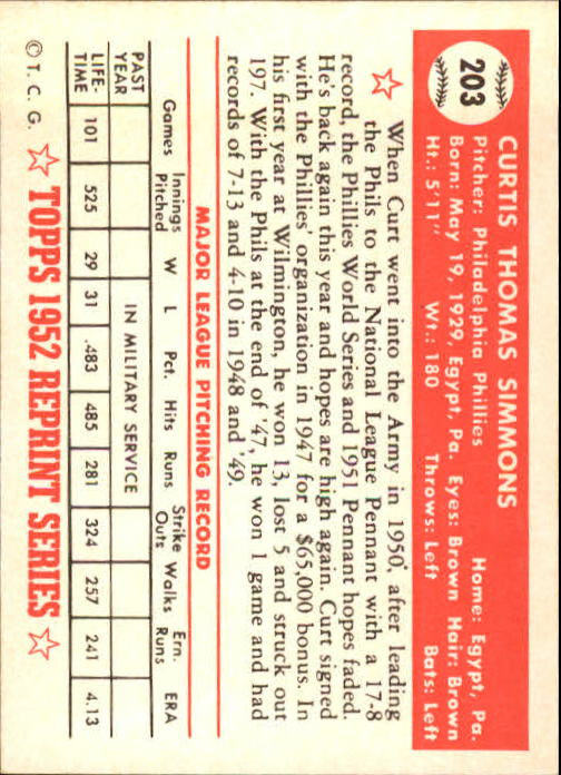 1983-Topps-1952-Reprint-BB-Card-039-s-1-250-You-Pick-Buy-10-cards-FREE-SHIP thumbnail 344