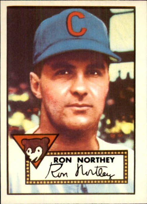 1983 Topps 1952 Reprint #204 Ron Northey
