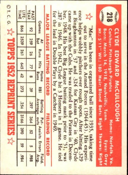 1983-Topps-1952-Reprint-BB-Card-039-s-1-250-You-Pick-Buy-10-cards-FREE-SHIP thumbnail 368